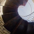 Escala cargol dins de la torre /Escalera caracol dentro de la torre/Spiral stair